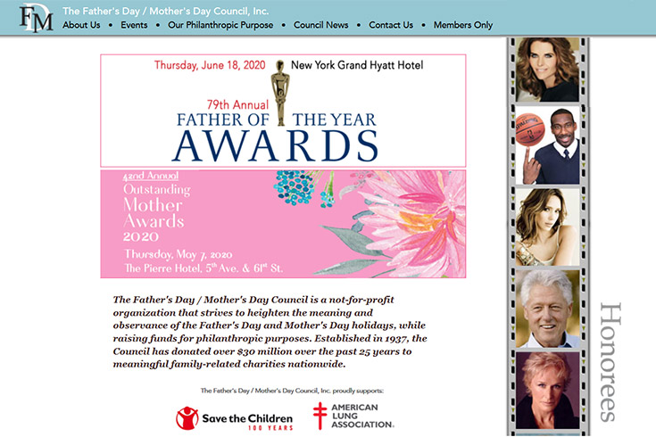 Father's Day/Mother's Day Council, Inc. JonasWeb Case Study